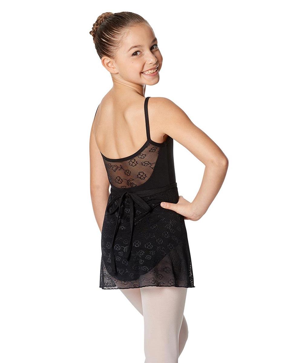 Girls Wrap Mesh Skirt Anya back