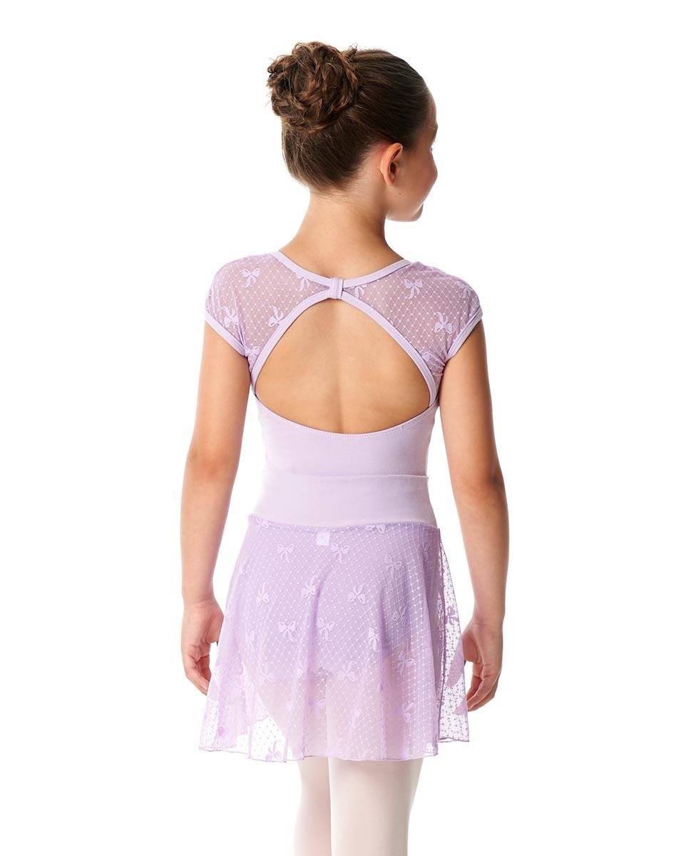 Girls Mesh Waistband Skirt Jasmine back