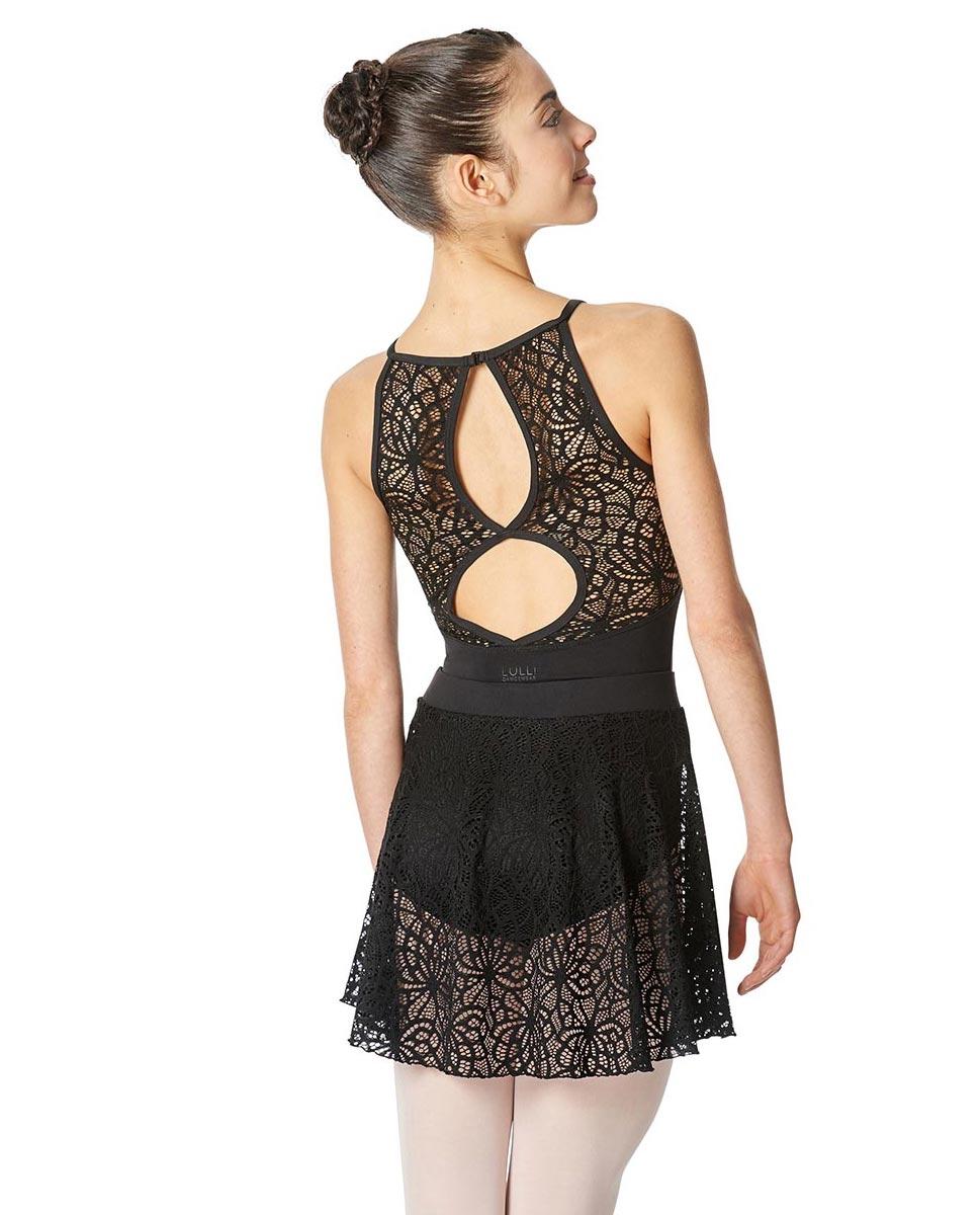 Women Lace Skirt Thea back