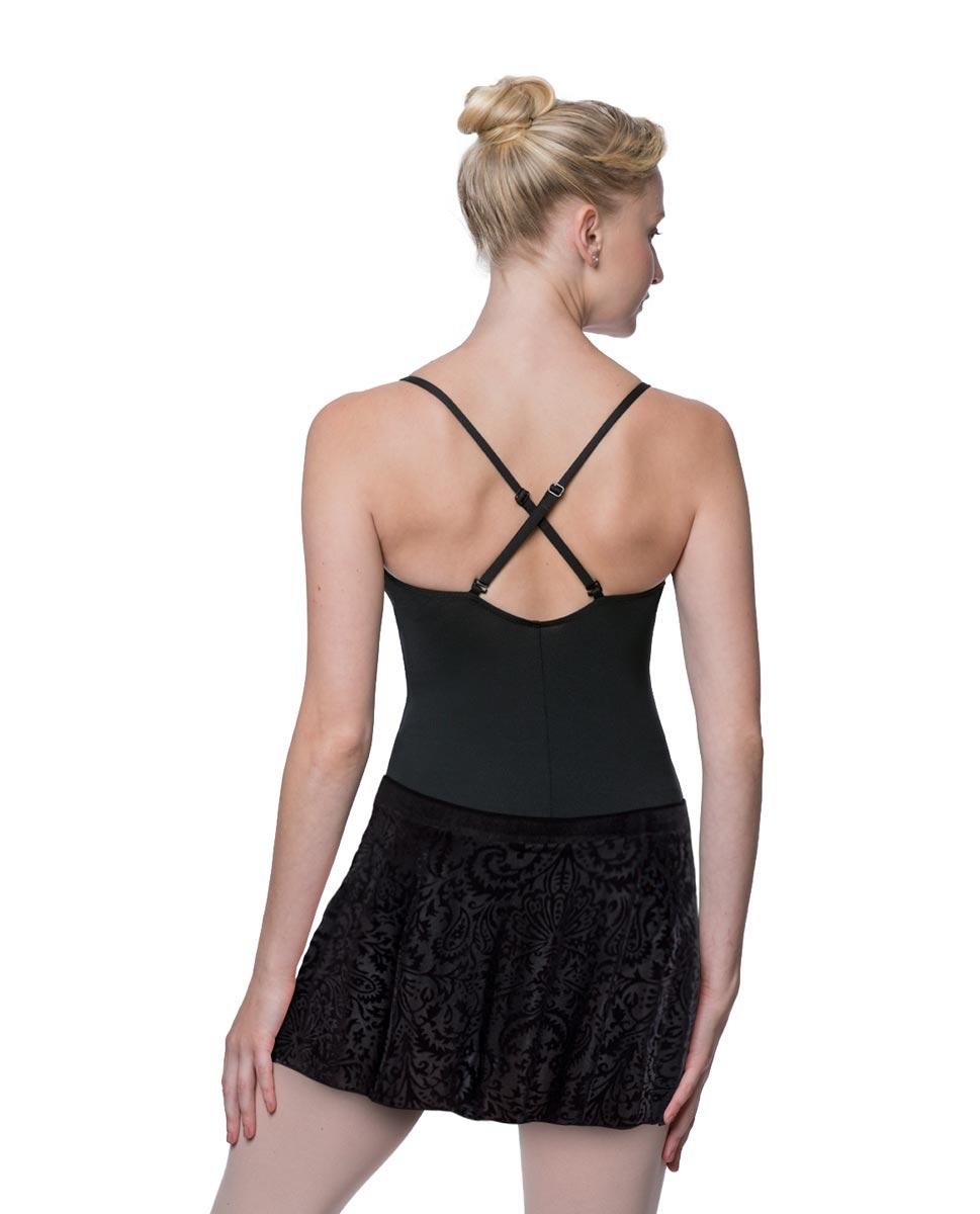 Adult Flocked Velvet Skirt Marie back
