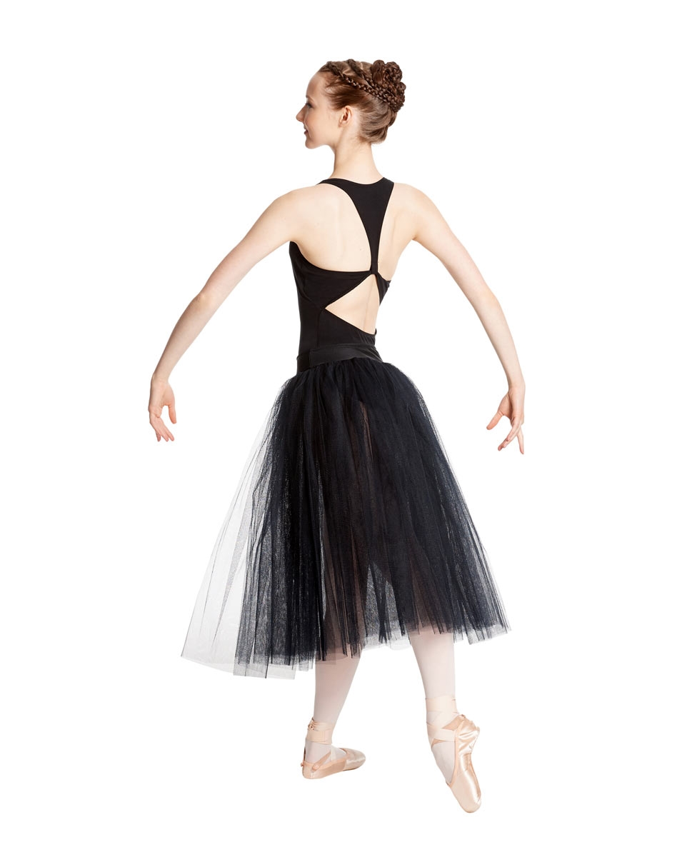 Adult Romantic Ballet Skirt Aerin back