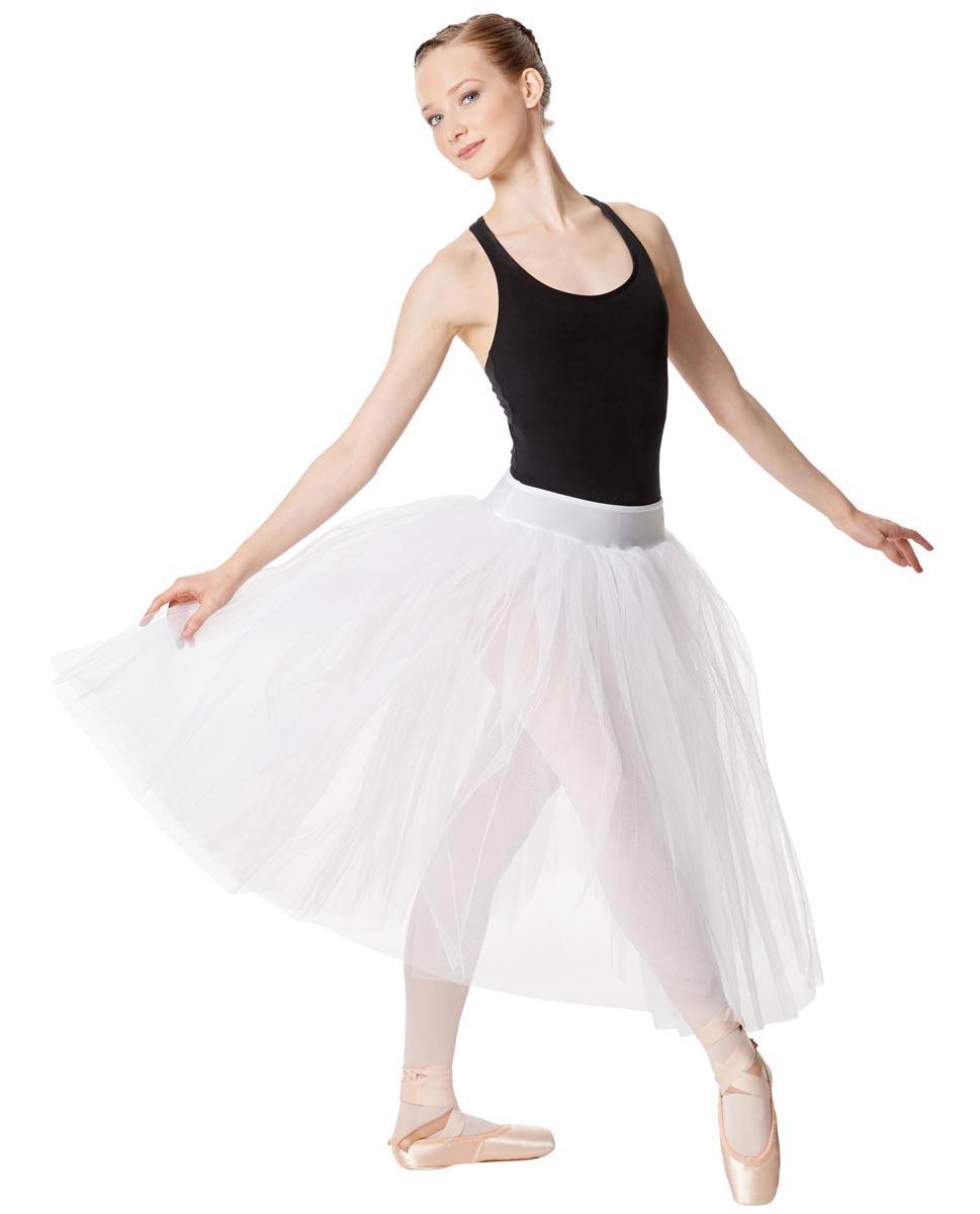 Adult Romantic Ballet Skirt Aerin WHI