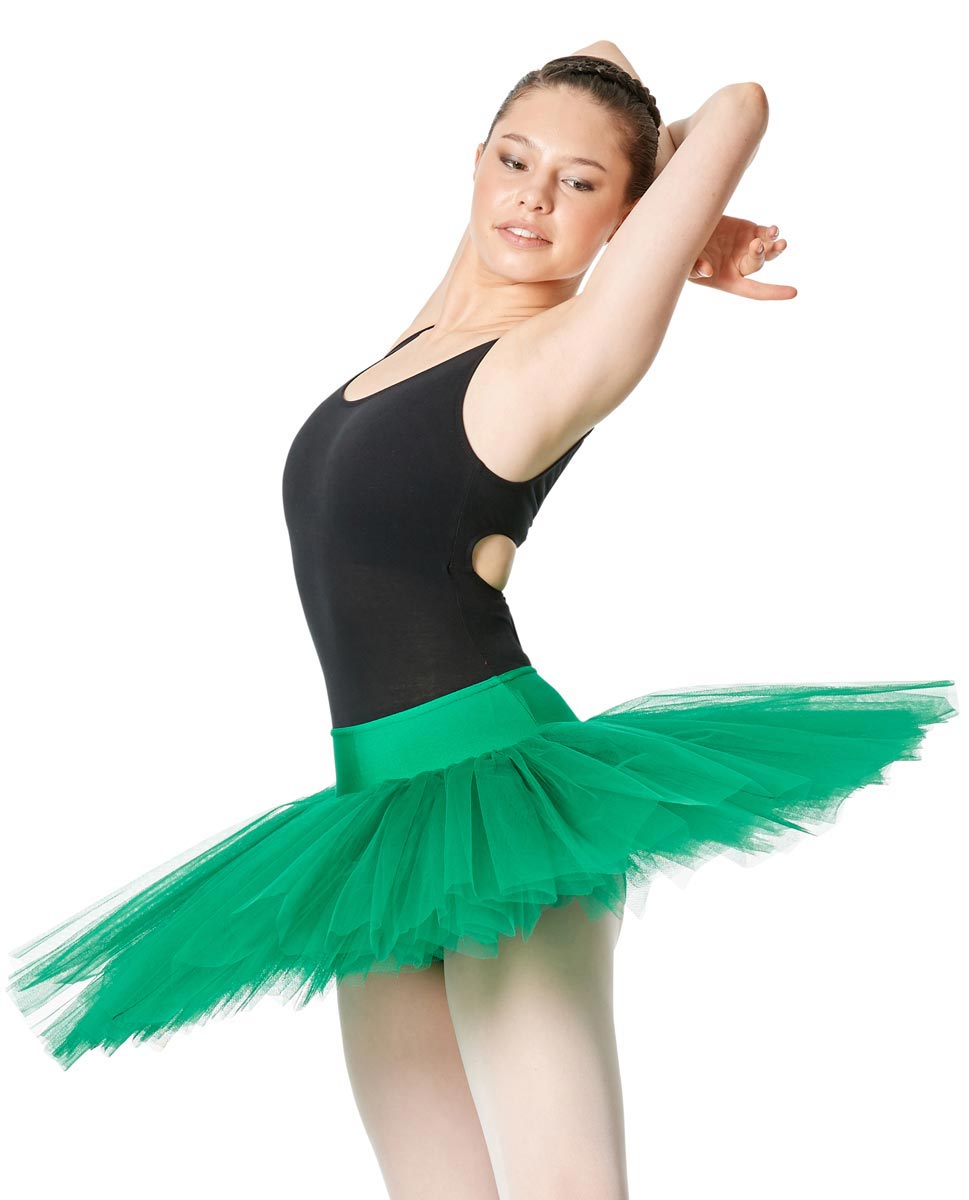 Adult 6 Layers Ballet Tutu Skirt Adelaide FOREST