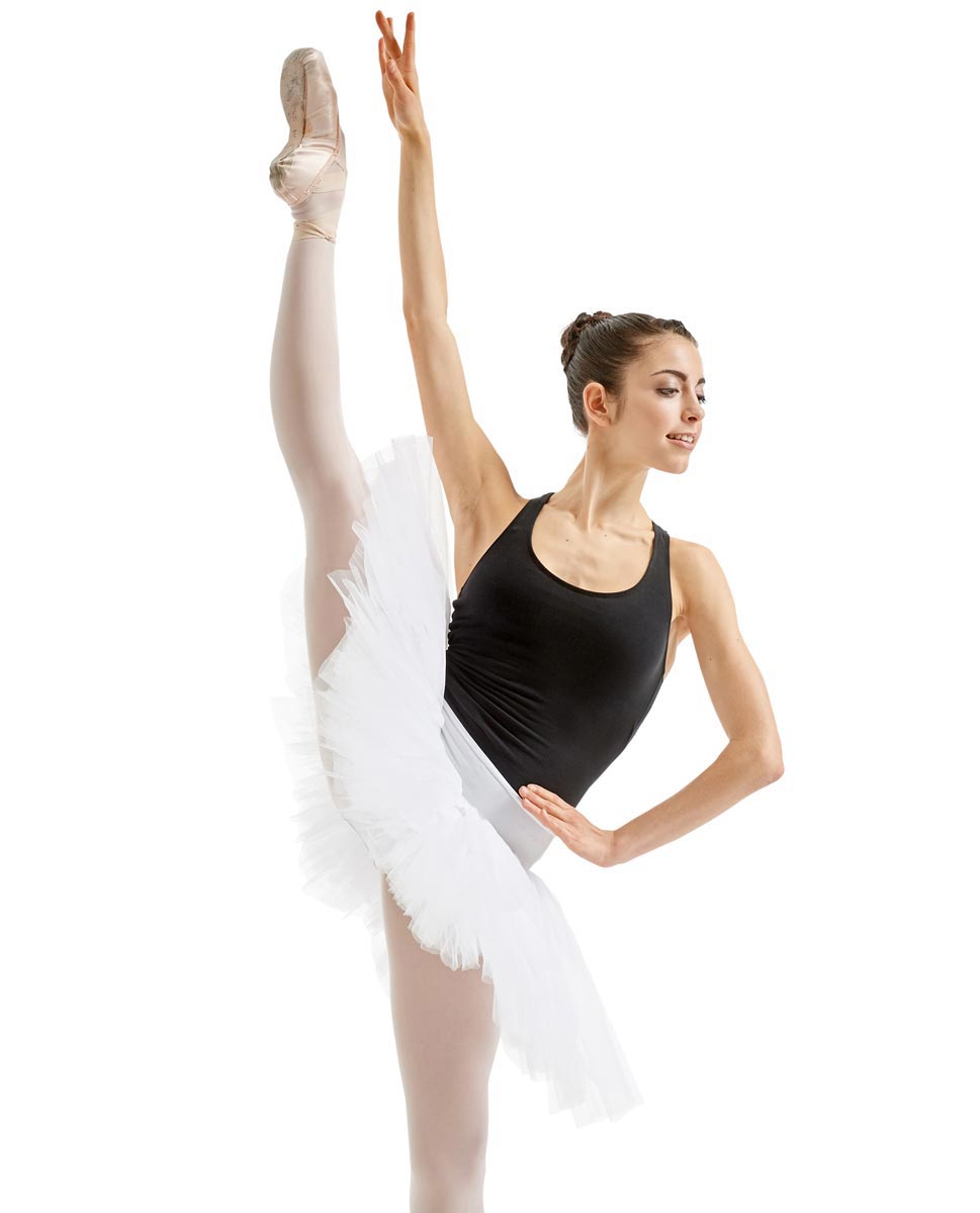 Adult 6 Layers Ballet Tutu Skirt Adelaide WHI