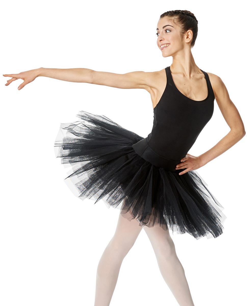 Adult 6 Layers Ballet Tutu Skirt Adelaide BLK