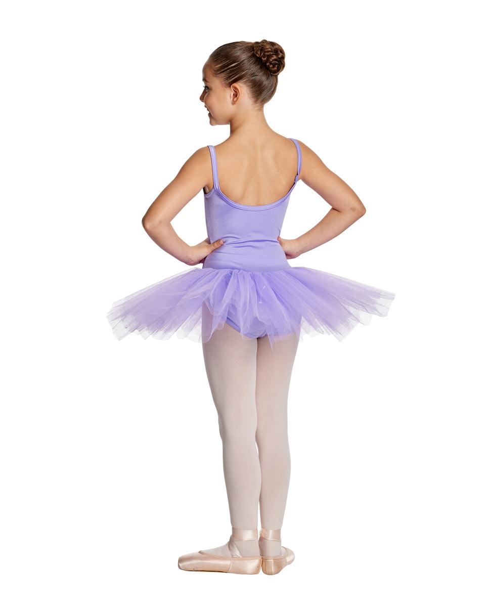 Child Camisole Tutu Ballet Dress Everly back