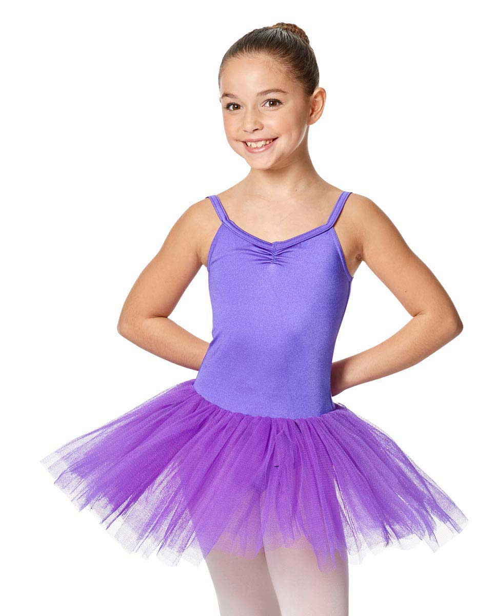 Child Camisole Tutu Ballet Dress Everly PUR