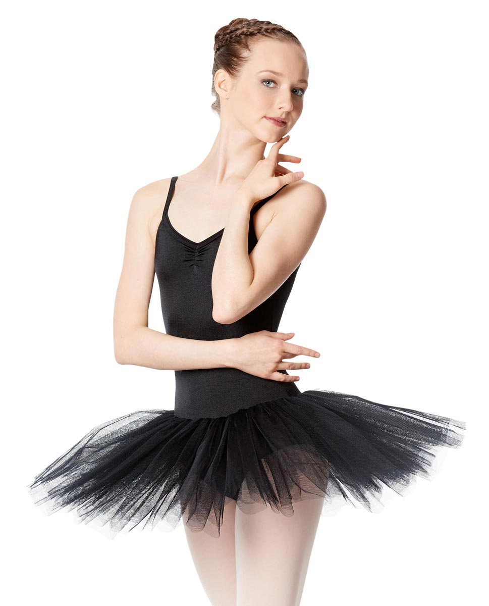 Adult Camisole Tutu Ballet Dress Everly BLK