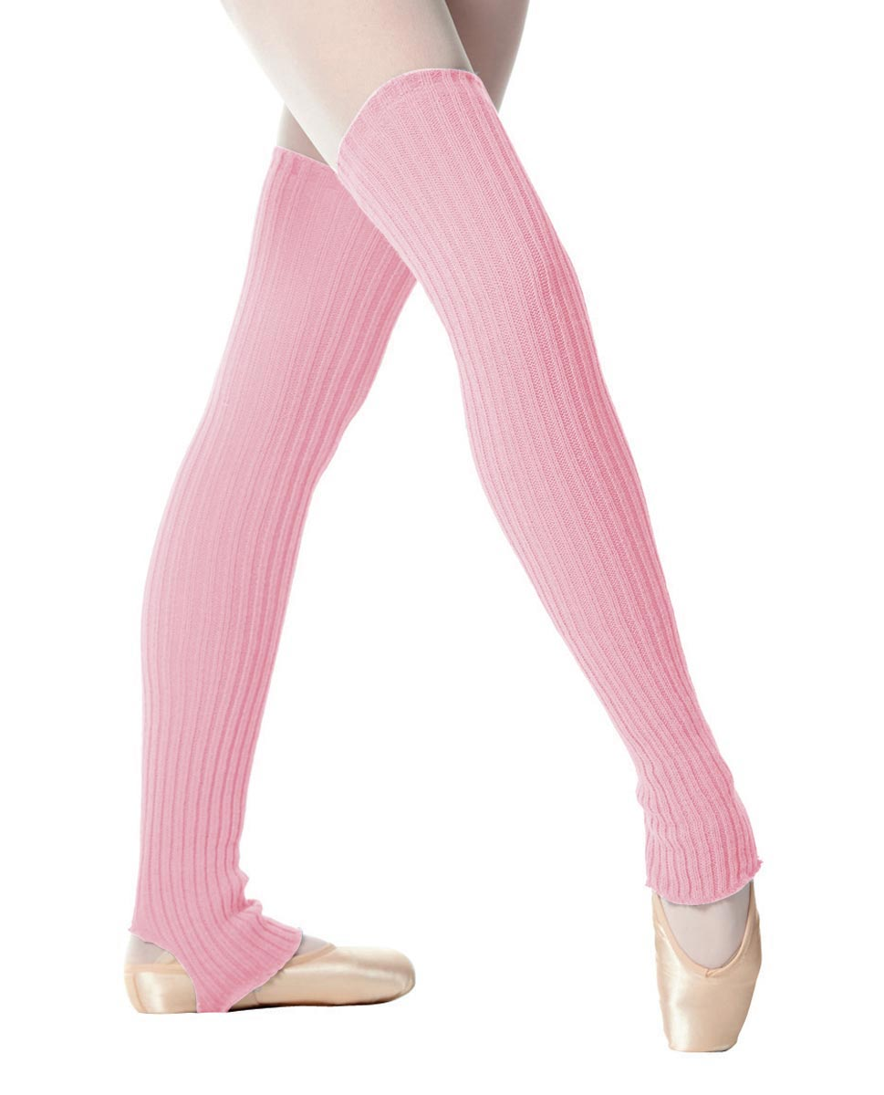 Adult Stirrup Leg Warmers 90 cm PNK