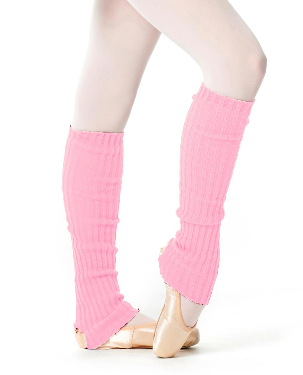 Adult Stirrup Leg Warmers 60 cm PNK