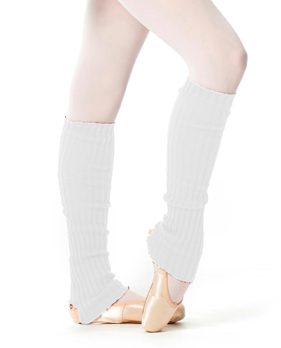 Adult Stirrup Leg Warmers 60 cm WHI
