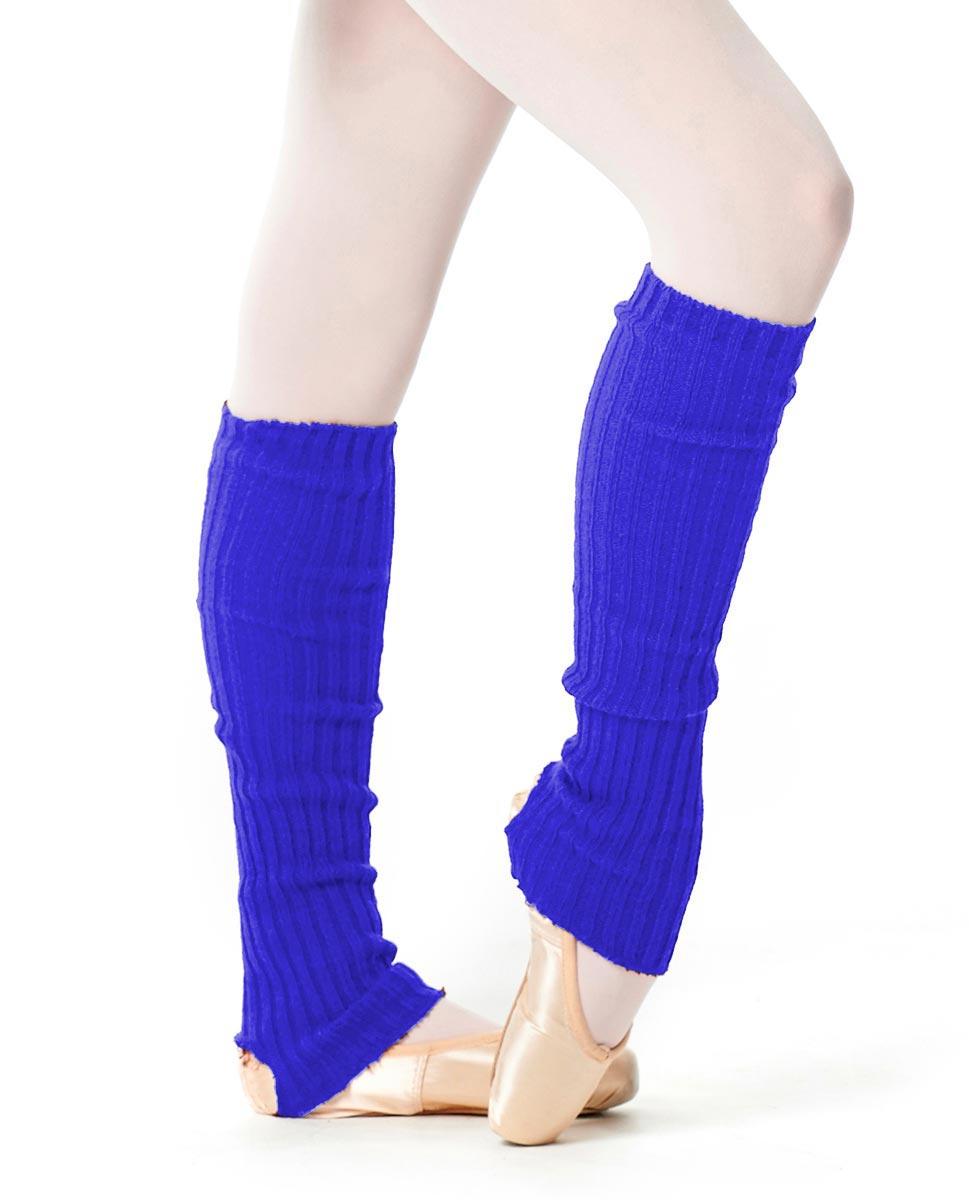 Adult Stirrup Leg Warmers 60 cm EBLU