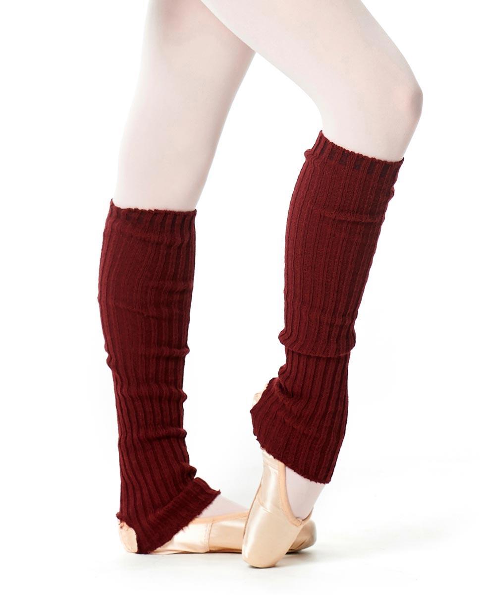 Adult Stirrup Leg Warmers 60 cm BUR