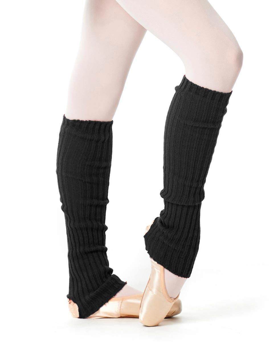 Adult Stirrup Leg Warmers 60 cm BLK