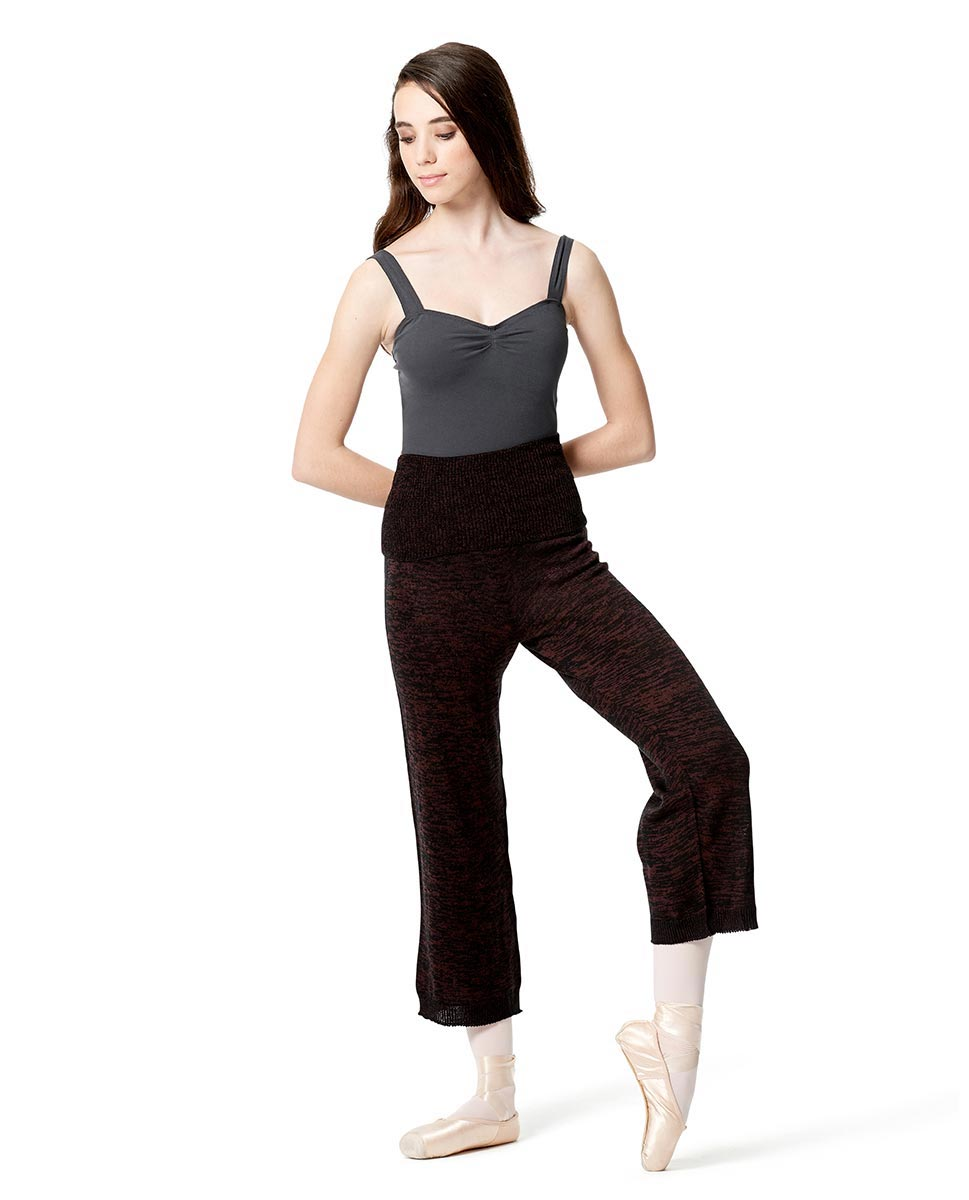 Knitted Warm Up Dance Boot Pants BURMEL