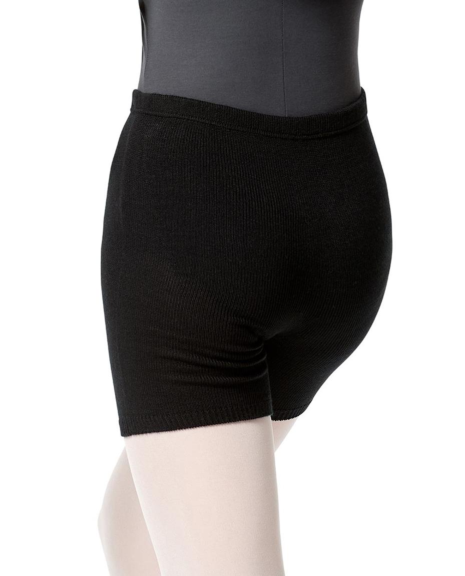 Knit Warm Up Dance Shorts back-knit-warm-up-shorts