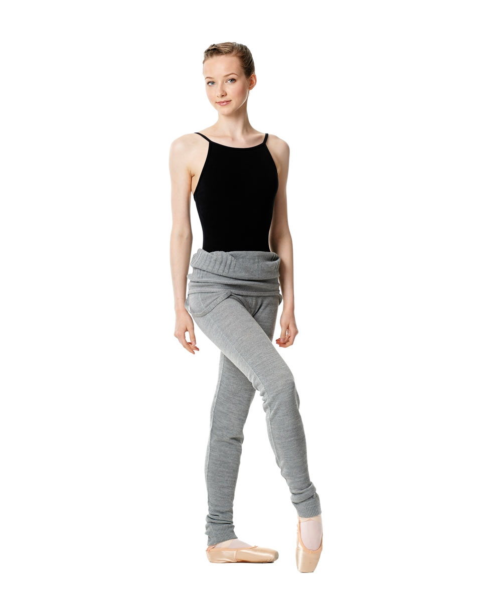 Adult Knit Long Dance Unitard back