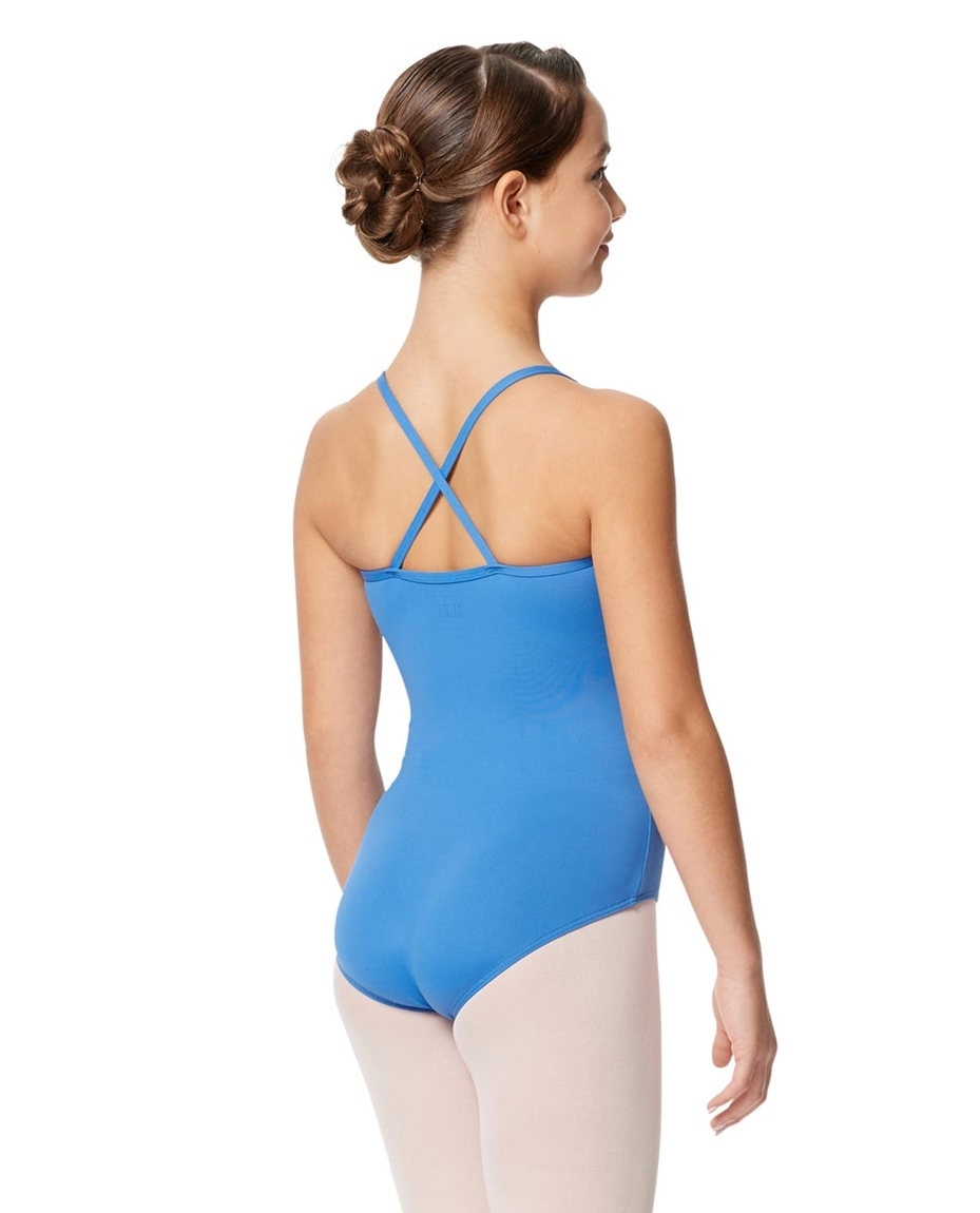Child Microfiber Pinched Front Camisole Leotard Alair 2-