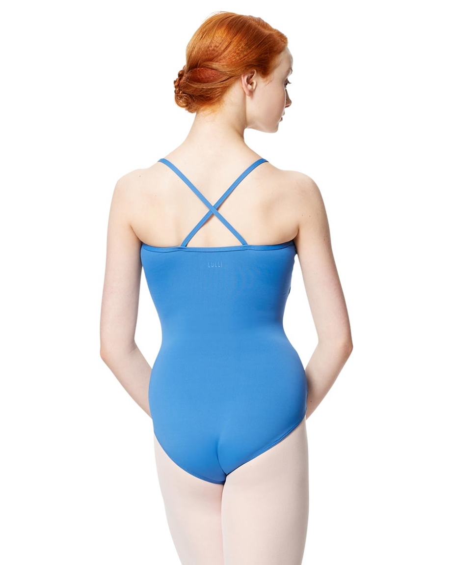 Adult Microfiber Pinched Front Camisole Leotard Alair 2-