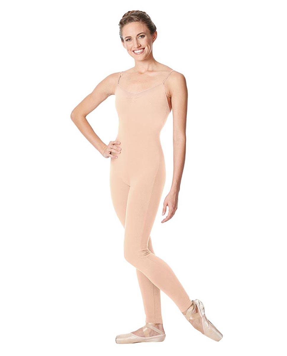 Adult Camisole Pinch Front Dance Unitard Aurora LNUD