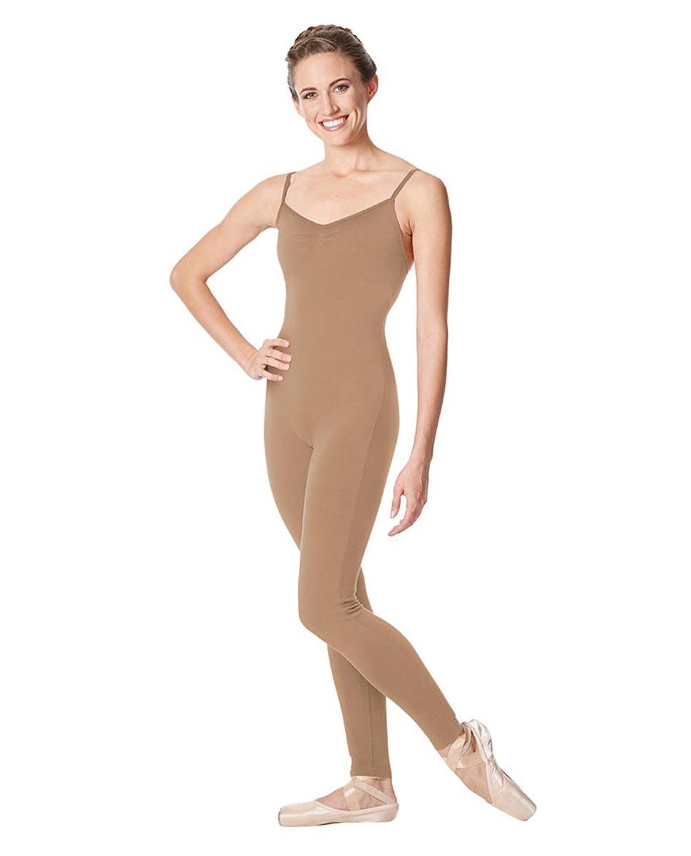 Adult Camisole Pinch Front Dance Unitard Aurora DNUD