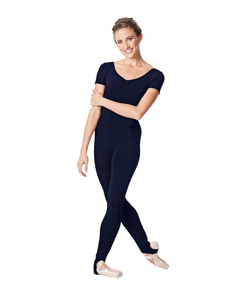 Short Sleeve Ankle Length Dance Unitard Sophie NAY