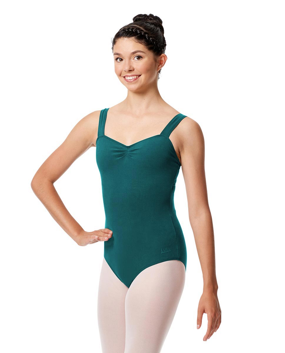 Adult Wide Straps Leotard Constanza  TEA