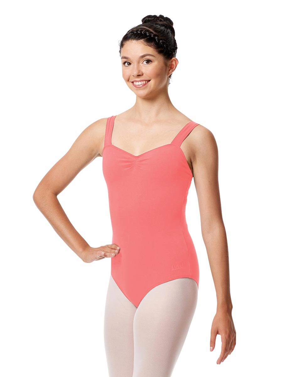 Adult Wide Straps Leotard Constanza  PEAC