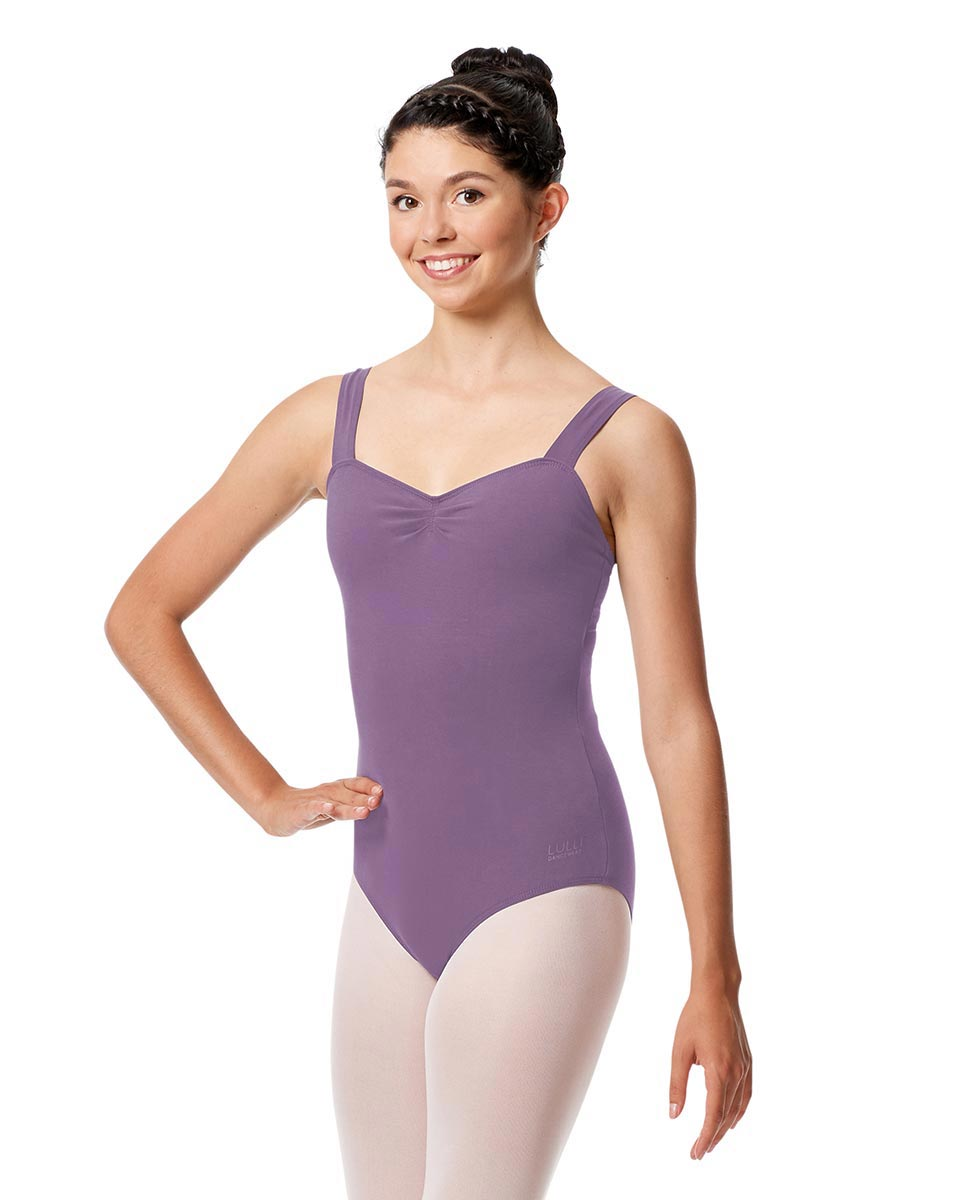 Adult Wide Straps Leotard Constanza  LAV