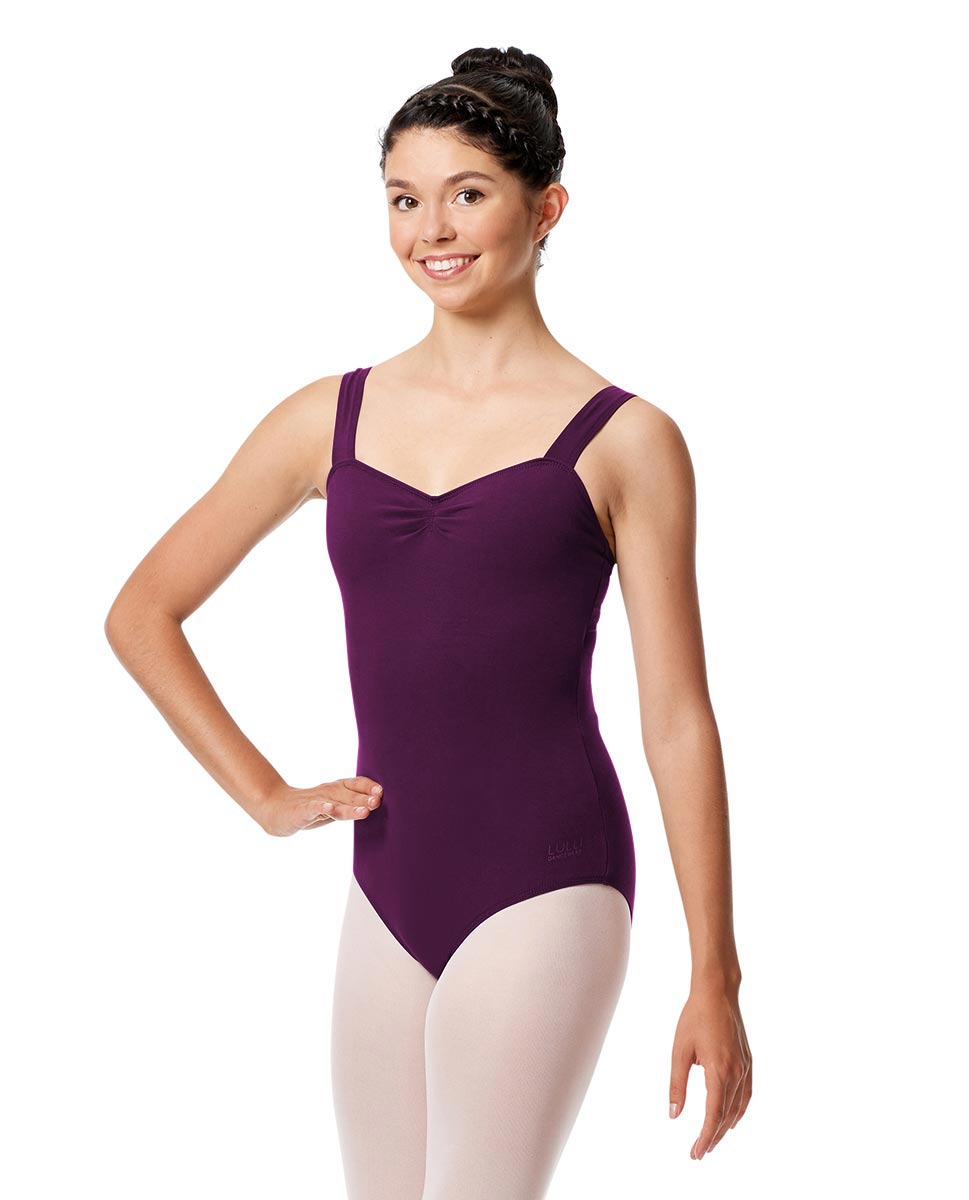 Adult Wide Straps Leotard Constanza  GRAP