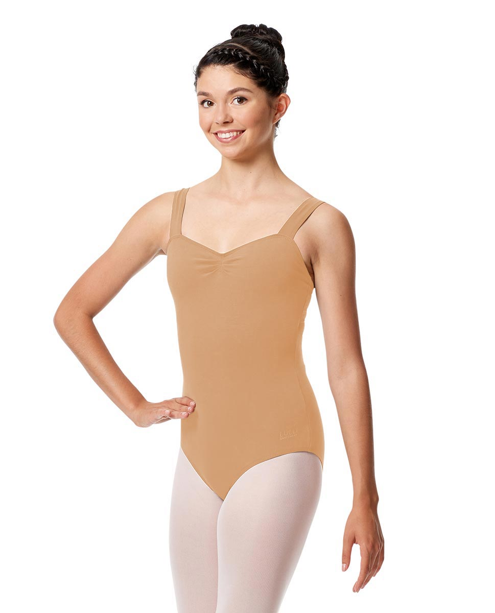 Adult Wide Straps Leotard Constanza  DNUD
