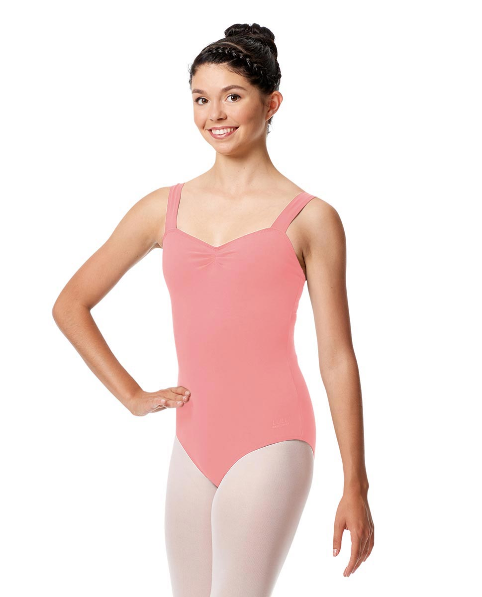 Adult Wide Straps Leotard Constanza  BPNK