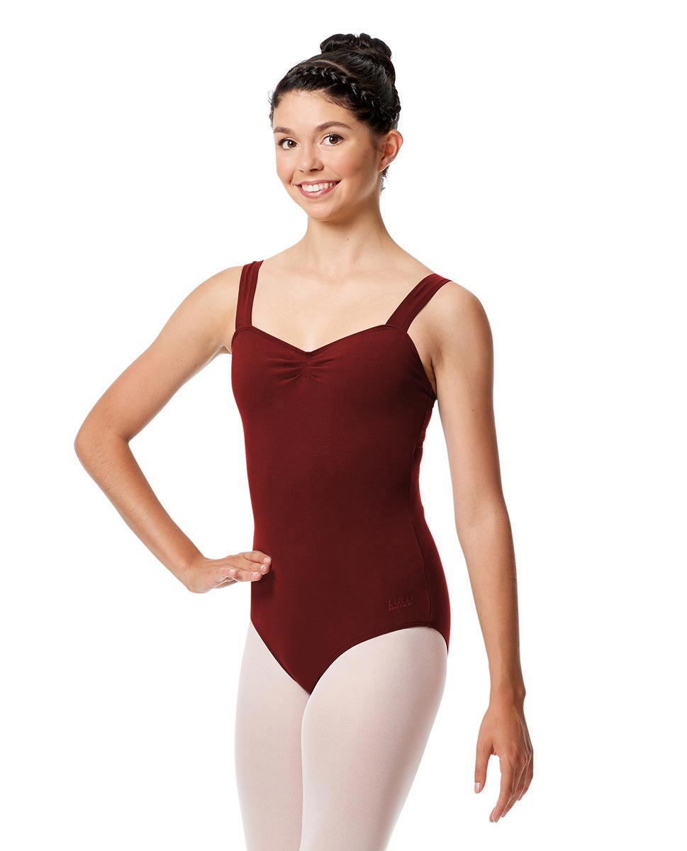 Adult Wide Straps Leotard Constanza  BUR