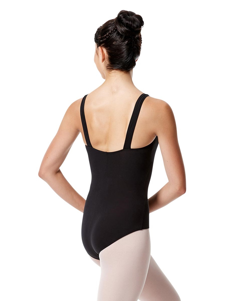 Adult Wide Straps Leotard Constanza  Back-adult-wide-straps-dance-leotard-constanza