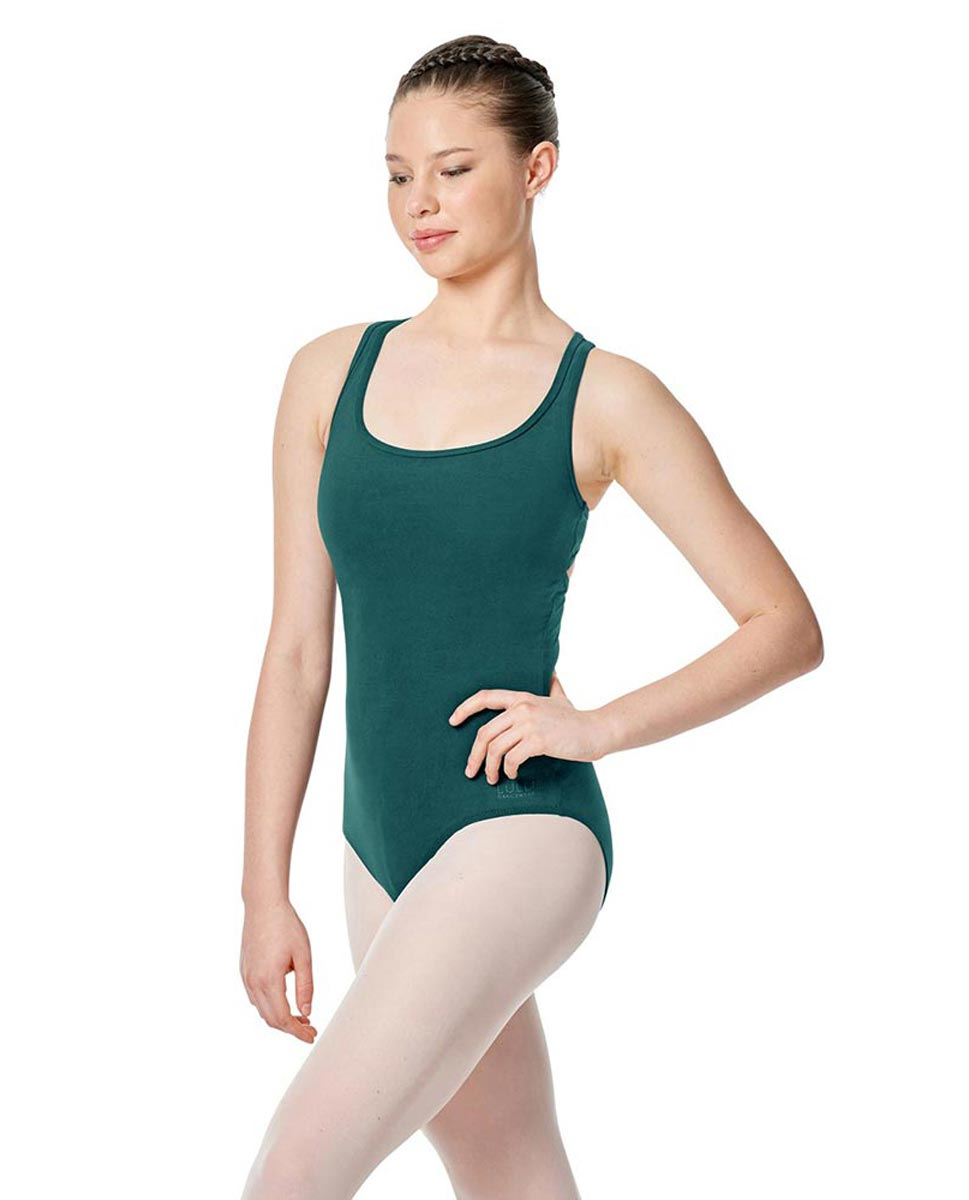 Twist Back Dance Leotard Stella TEA