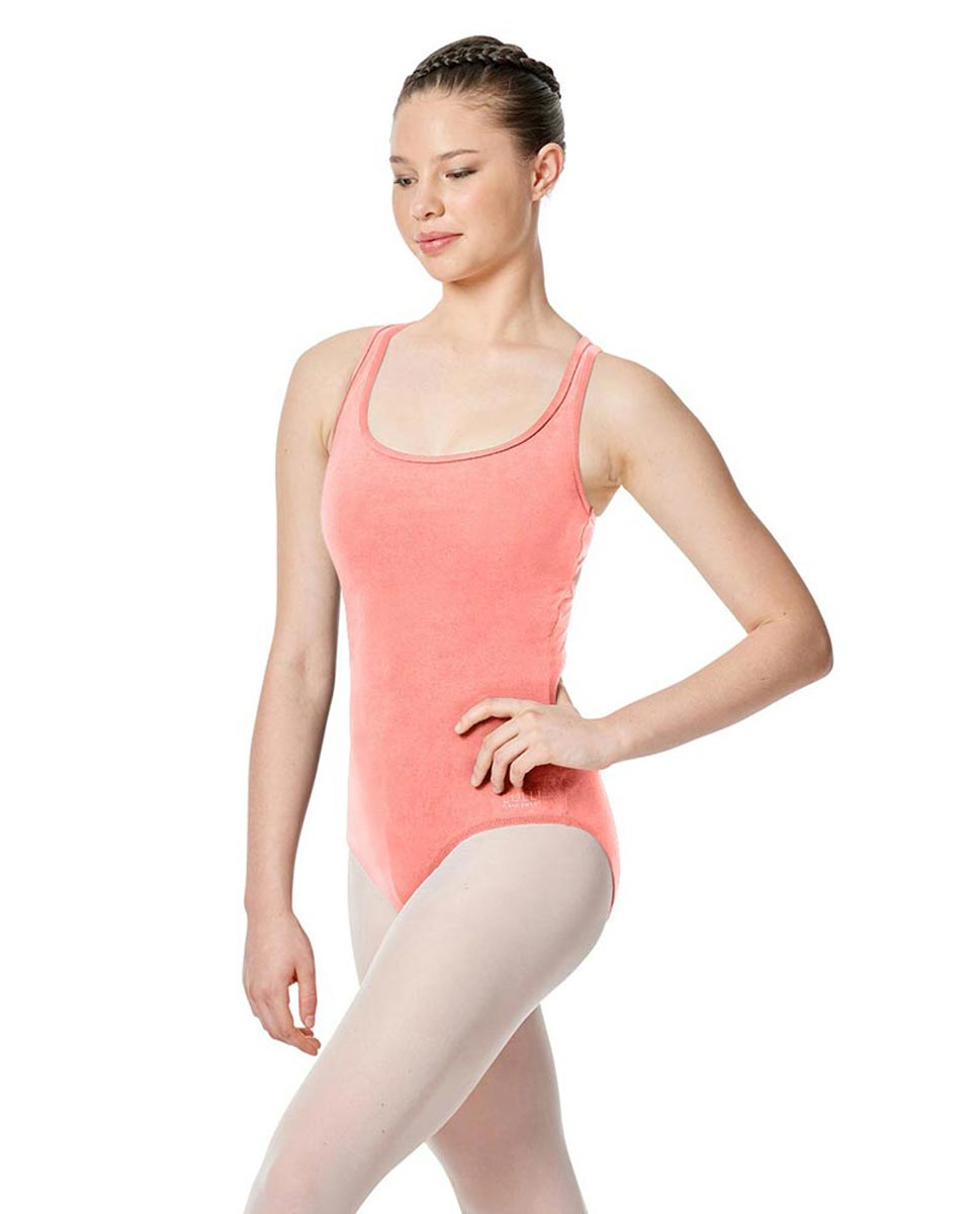 Twist Back Dance Leotard Stella PEAC