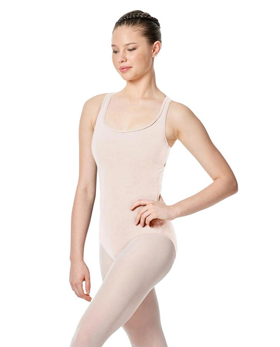 Twist Back Dance Leotard Stella LPNK