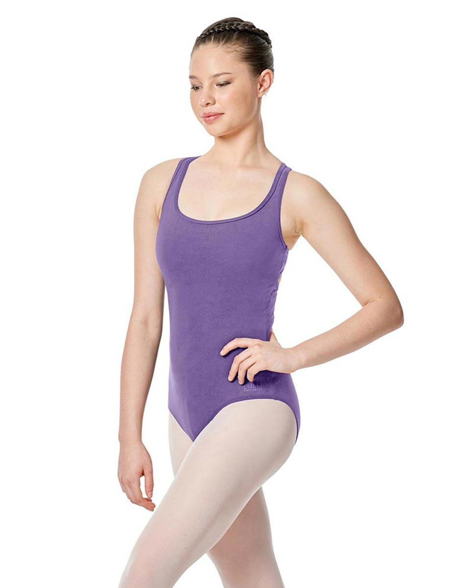 Twist Back Dance Leotard Stella LAV