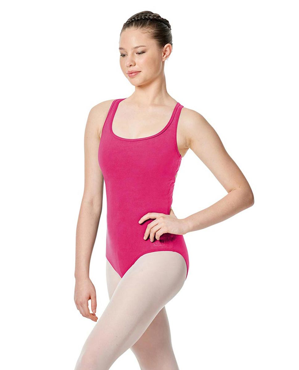 Twist Back Dance Leotard Stella FUC