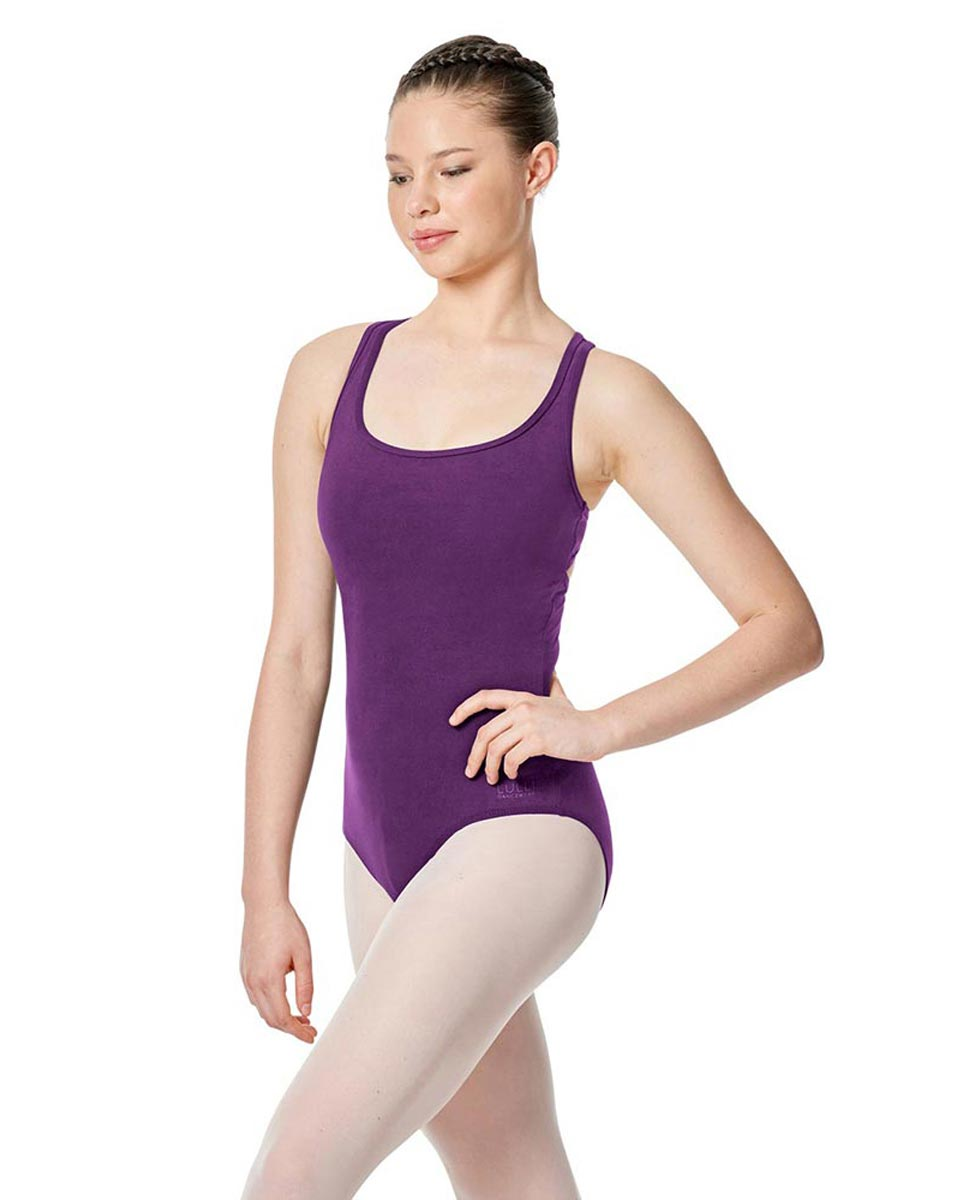 Twist Back Dance Leotard Stella GRAP