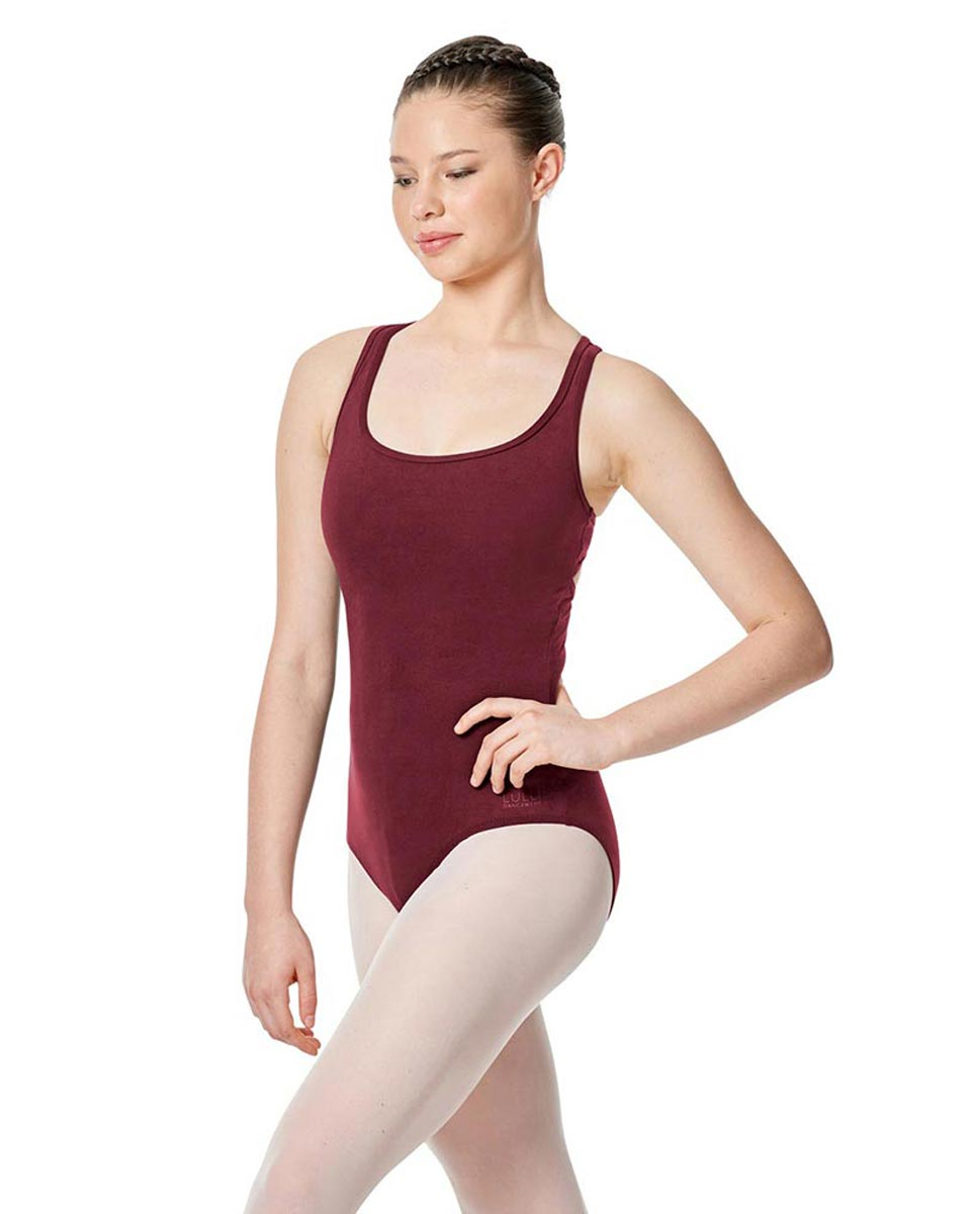 Twist Back Dance Leotard Stella BUR
