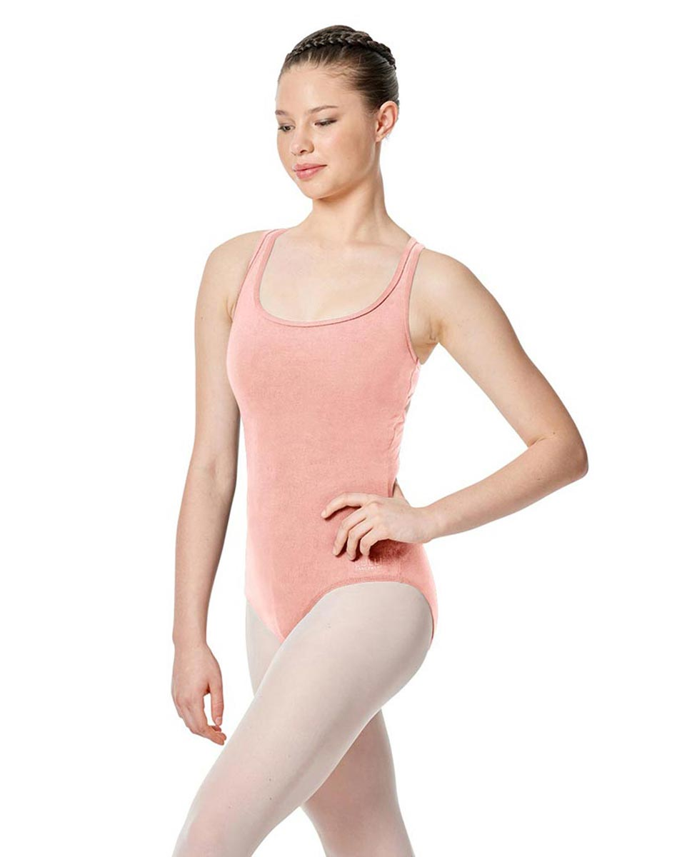 Twist Back Dance Leotard Stella BPINK