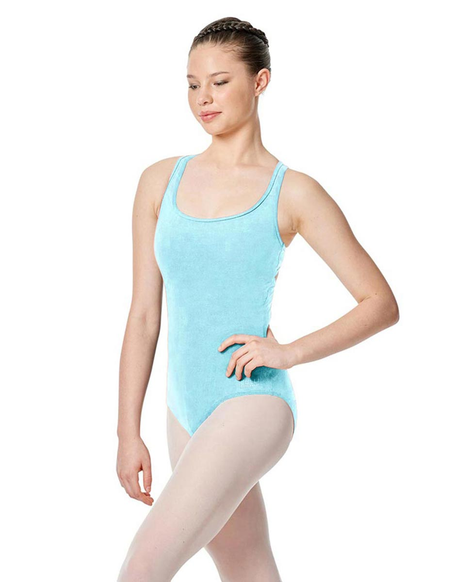 Twist Back Dance Leotard Stella AQU