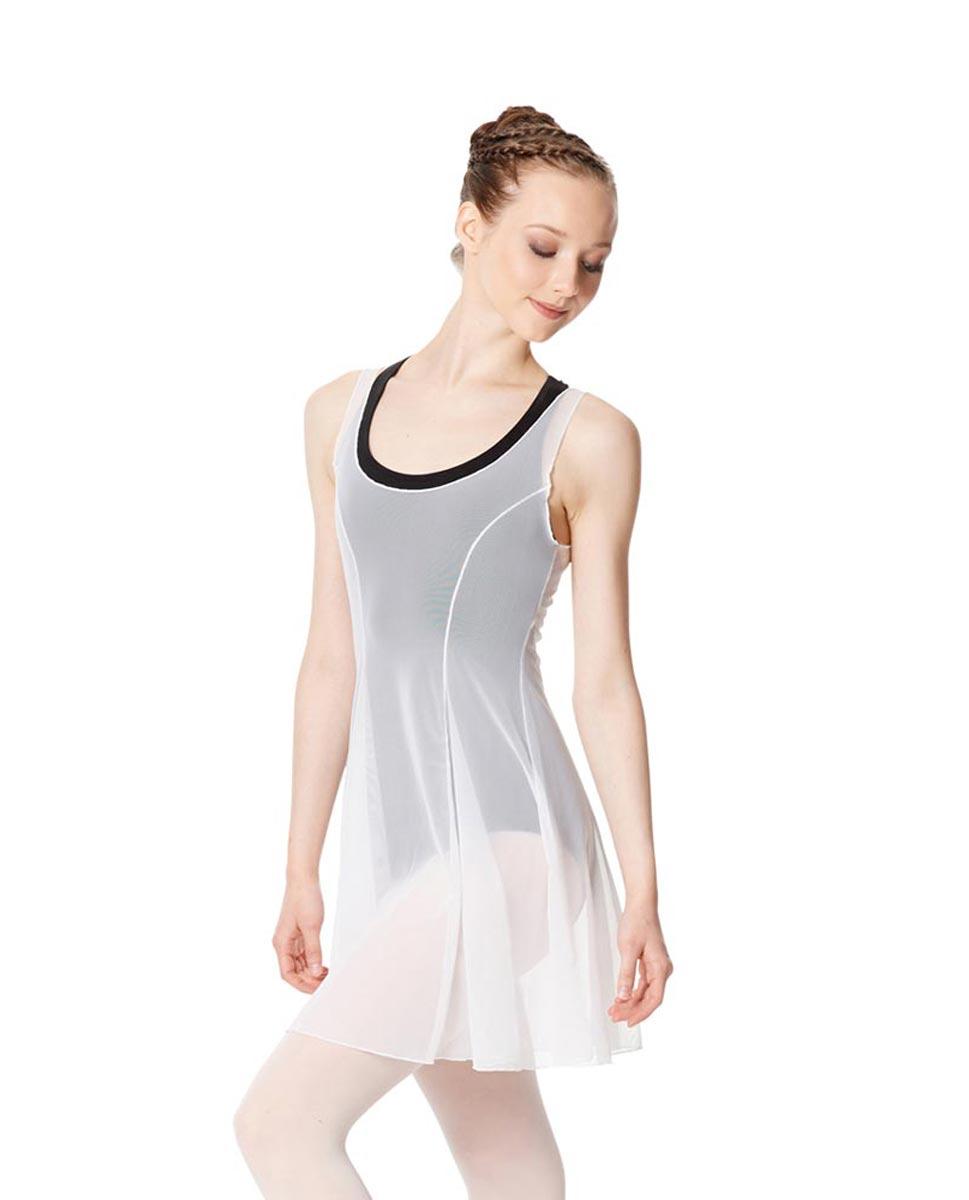 Womens Dance Dress Gabriella WHI