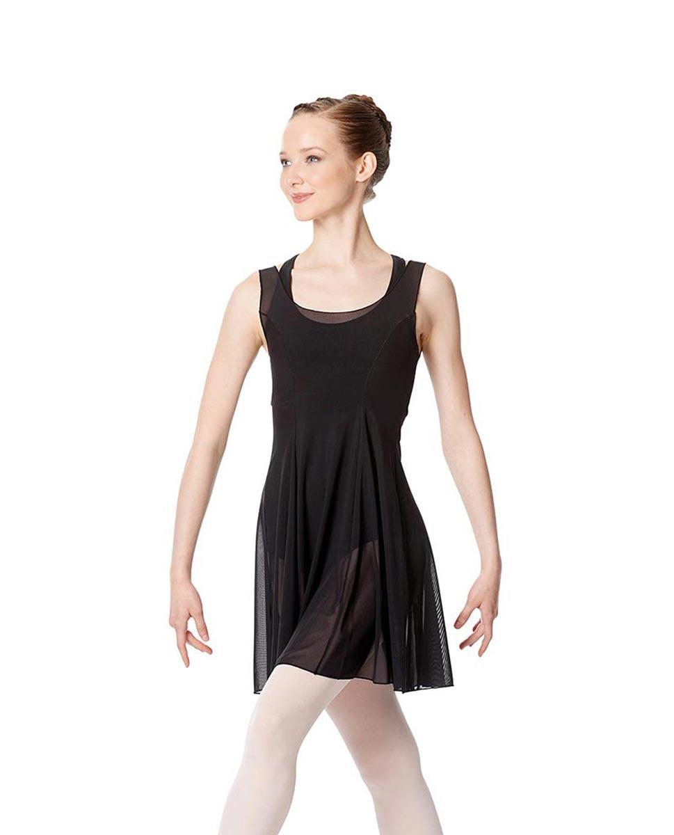 Womens Dance Dress Gabriella BLK