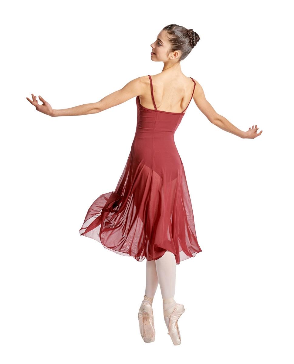 Camisole Long Ballet Dress Leotard Claire back