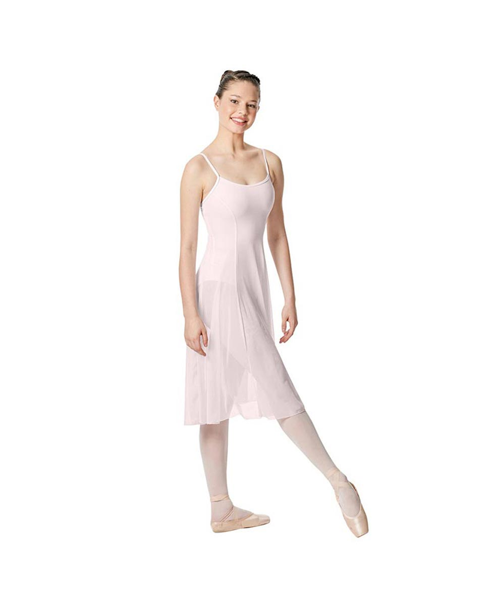 Camisole Long Ballet Dress Leotard Claire PNK