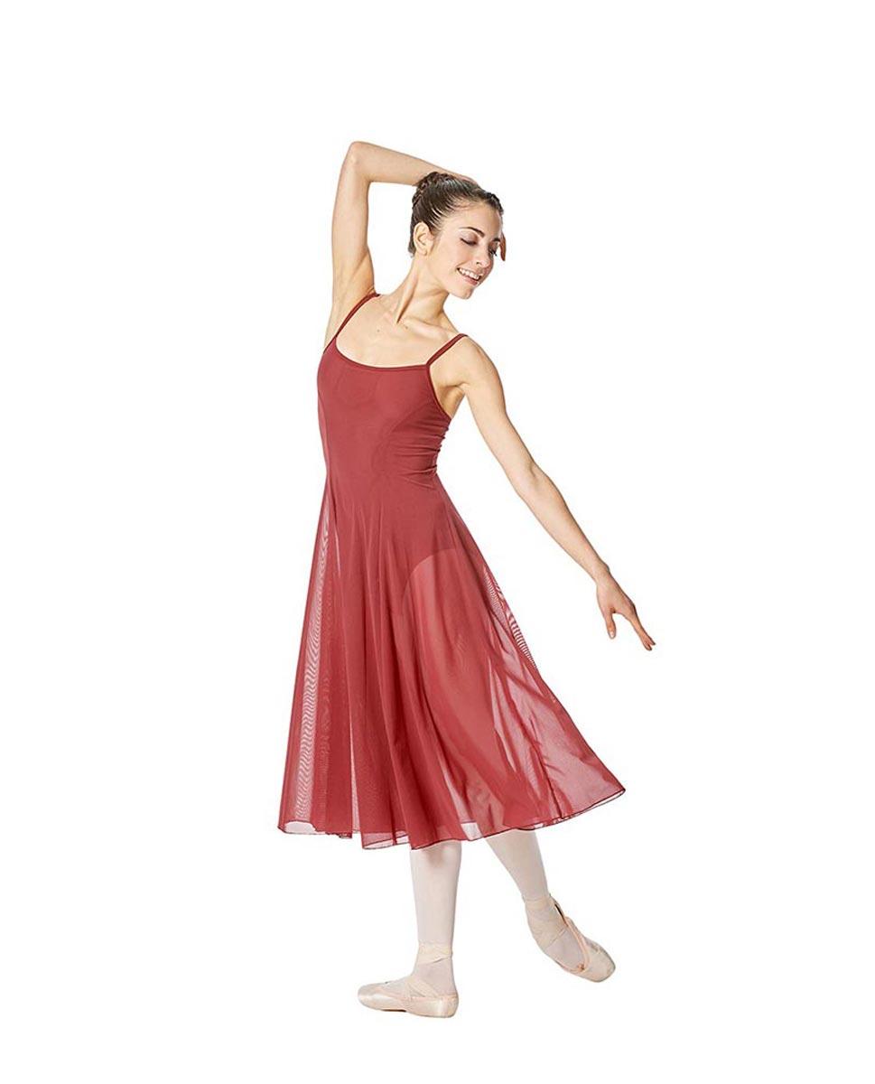 Camisole Long Ballet Dress Leotard Claire BUR