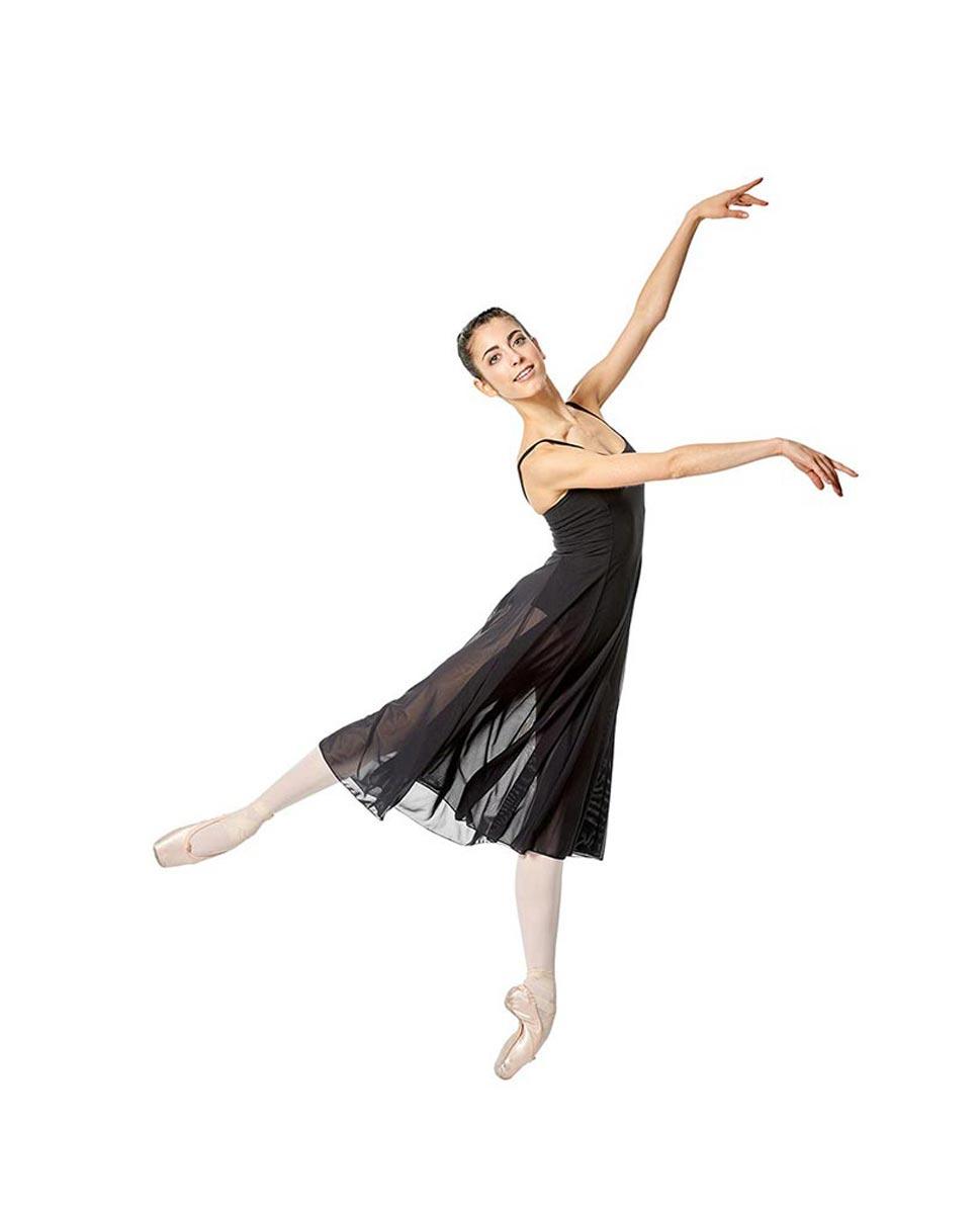 Camisole Long Ballet Dress Leotard Claire BLK