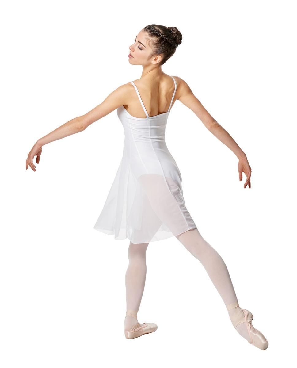 Womens Camisole Mesh Ballet Dress Leotard Natalie back
